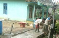 Pembangunan Jalan Setapak Desa Bindu OKU Tidak Jelas