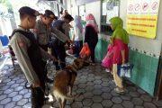 K9 dan Polisi Serta TNI Bantu Pengamanan Lapas di Hari Raya Idul Fitri