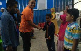Perusahaan Industri Kelapa Batee Glungku, Santuni Anak Yatim