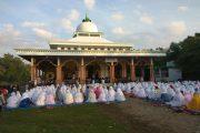 Ratusan Jamaah Ikuti Shalat Ied di Mesjid Sabilul Muttaqien Klaci