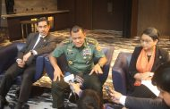 Panglima TNI Dampingi Menlu RI Hadiri Trilateral Meeting Penanggulangan Terorisme