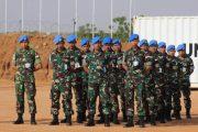 Pasukan Garuda di Sudan Laksanakan Upacara Peringati Hari Lahirnya Pancasila