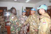 Kunjungan Kerja Komandan Satgas Indobatt-03 di GOS Army