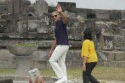 Obama Kunjungi Candi Prambanan