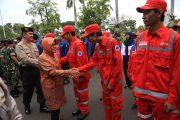 Pemkot Surabaya Apel Bersama 1700 Pasukan Gabungan