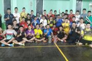 Rektor UNM Tutup Liga Bulutangkis Ramadhan Cup