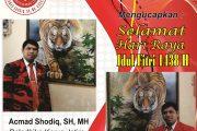 Acmad Shodiq, SH, MH Sampaikan Ucapan Idul Fitri 1438 H