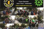 Croja Indonesia Jatim Berbagi Takjil di Surabaya
