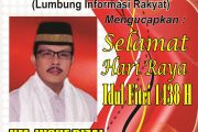 Presiden LSM LIRA Sampaikan Ucapan Idul Fitri 1438 H