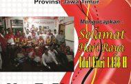 Gubernur LSM LIRA Jatim Sampaikan Ucapan Idul Fitri 1438 H