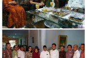 Idul Fitri, Bupati Halbar Jalin Silaturahmi diKediaman Gubernur & Walikota Ternate