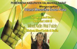 Kabag Umum Setda Halbar Berikan Ucapan Idul Fitri
