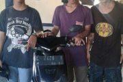 Tiga Pelaku Pencuri Motor Dibekuk, Dua Diantaranya ABG
