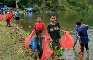Berwisata ke Danau Laut Tawar Jangan Tinggalkan Sampah