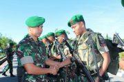 Amanat Danyonif 115/ML Untuk Prajurit PAM Pulau Rondo