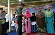 Safari Ramadhan Bersama Forkopimda, Dandim Gresik Sempatkan Santuni Anak Yatim