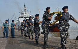 Empat Kaprang India Tiba di Surabaya, Danlantamal V  Sambut Meriah
