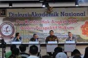 Dalam Diskusi Nasional Di Ubaya, Hak Angket Ditertawakan