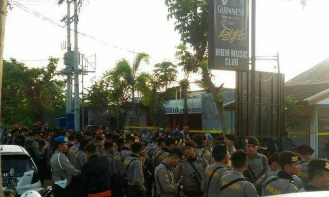 Polda Bali Segel Cafe Bibir, Diduga Terkait Peredaran Narkoba