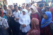 Bupati Probolinggo Bersama Mensos Pantau Penyaluran PKH