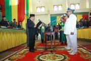Irwandi Yusuf Lantik Bupati dan Wakil Bupati Bener Meriah