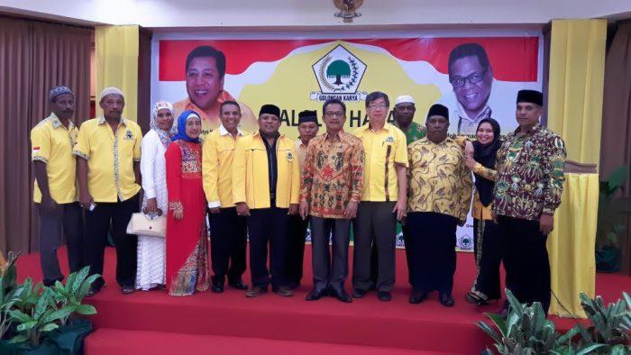 Keluarga Besar Partai Golkar Fakfak Gelar Halal bi Halal