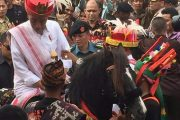 Jokowi Hadiri Parade Kuda Sandalwood dan Festival Tenun Ikat di Sumba