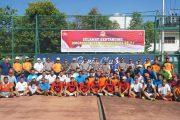 HUT Bhayangkara 17, POLDA Kalteng Gelar Turnamen Tennis