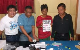Jurtul KIM Bawa Ganja Ditangkap Polisi