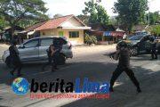 Simulasi Penanganan Kejahatan Warnai HUT Bhayangkara ke-71 di Polres Situbondo