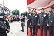 Dentuman Ledakan dan Tembakan Warnai HUT Bhayangkara Ke -71 di Kalteng