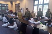 Luar Biasa !! Satpol PP Sergai Angkut Puluhan Pelajar Terjaring Razia Kasih Sayang