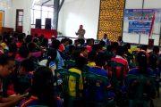 Di SMA Don Bosco, Satlantas Polres Fakfak Sosialisasi Tertib Berlalu Lintas