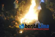 DiDuga Sengaja Dibakar, 5 Hektar Lahan Hutan Terbakar.
