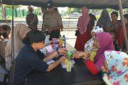 Polda Kalteng Beri Pengobatan Gratis Pada Korban Banjir, Kab. Katingan