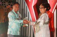 Wabup Sergai Darma Wijaya Raih Penghargaan dari Menteri PPA