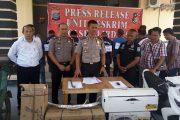 Tiga Bulan, Kasus Pencurian dan Pengelapan Berhasil Di Ungkap Polres Sergai