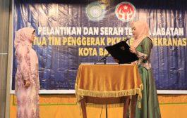 Darwati Lantik Ketua PKK dan Dekranasda Kota Banda Aceh