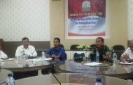 Kesbangpol Bahas Isu Aktual,Senpi illegal marak di Aceh