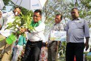Wali Kota Banda Aceh Tanam Pohon di Kota Malang