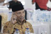 Wakil Walikota Jamu Amin Rais di Pendopo