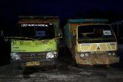 Di Amankan Polres Seruyan  Dua Truck Bermuatan Kayu Olahan Ilegal