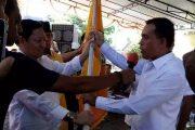 Ahmad Zakir Mando Resmi Pimpinan Golkar di Halbar