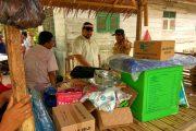 Rumah Kontruksi Kayu Warga Meunasah Dayah Di Lalap Si Jago Merah