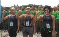 Atlet Renang Lantamal V Sabet Juara II Renang Laut Piala Panglima TNI 2017