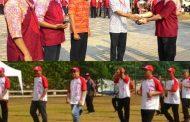 Dirut PT Jakpro Pimpin Peringatan HUT RI di Taman Waduk Pluit