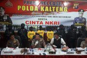 Polda Kalteng Kantongi Aktor Pembakaran Sekolah di Palangkaraya