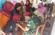 KOPASSUS Gelar Bakti Sosial Peringati HUT Ke 72 TNI di Sragen
