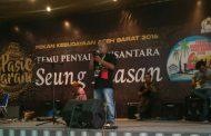 Pilo Poly Wakili Pidie Jaya di Jambore Sastra Bogor