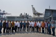 KRI Tanjung Nusanive Segera Bersandar